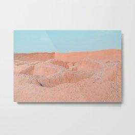 minimal adobe heaven Metal Print