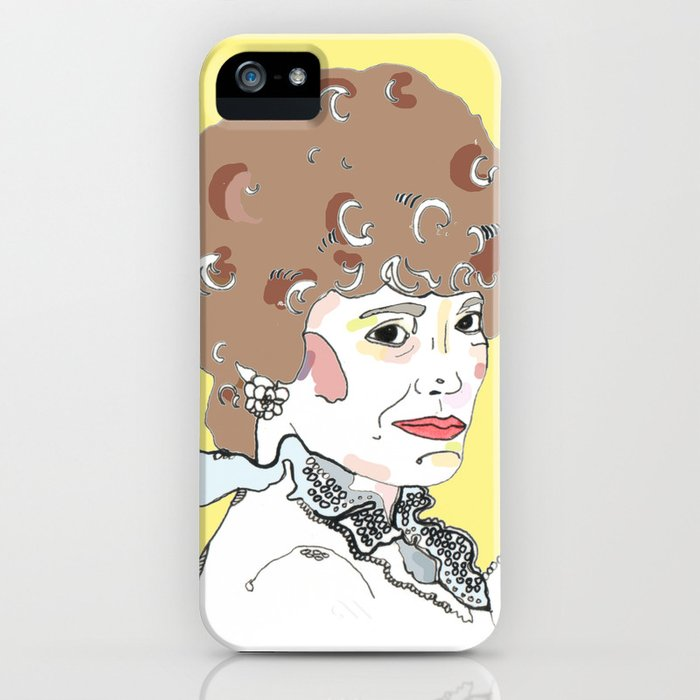 Blanche iPhone Case