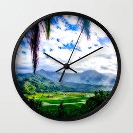 Silent Sage 0011 Kauai Wall Clock