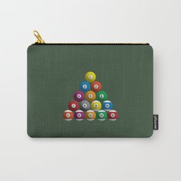 Billiard Pool Balls Carry-All Pouch