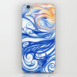 Winter Storm iPhone Skin