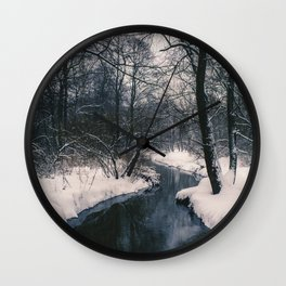 Almost frozen Wall Clock