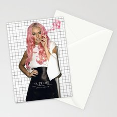 Pink SUPREME Stationery Cards