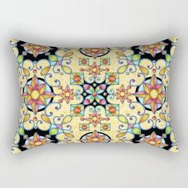 Rococo Starburst Rectangular Pillow
