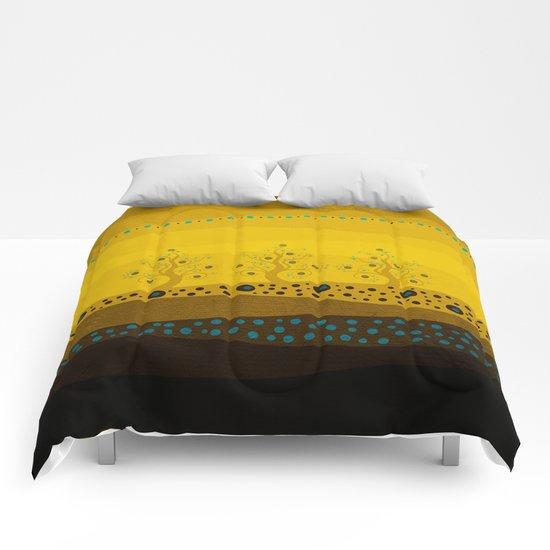 Color/Landscape 3 Comforters