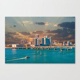 Biscayne Bay Canvas Print