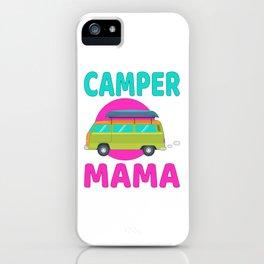 Camper Mama iPhone Case