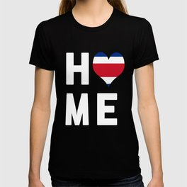 Costa Rica Is My Home Tee T-shirt