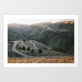 Lookout Mountain Road - Golden, Colorado Art Print