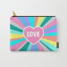 Love Colour Burst Carry-All Pouch