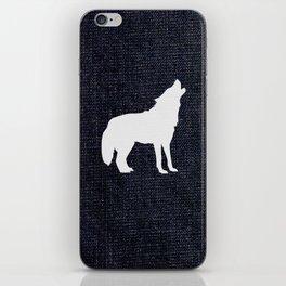 Jeans dog iPhone Skin
