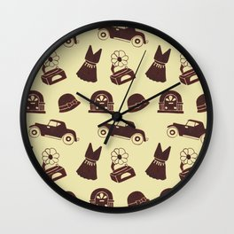 Back in the 20's Wall Clock