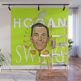 Hogan Swing Wall Mural