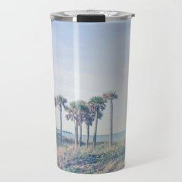 Seven Palm Trees Travel Mug
