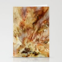white marble Stationery Cards featuring Marble by Santo Sagese