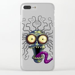 Large Marge Clear iPhone Case