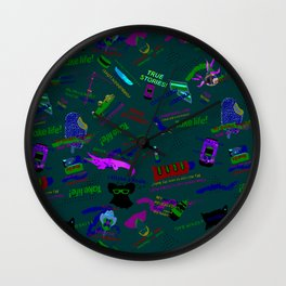 Take Life Mag! Wall Clock