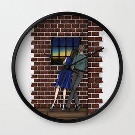 FitzSimmons Sunrise Wall Clock