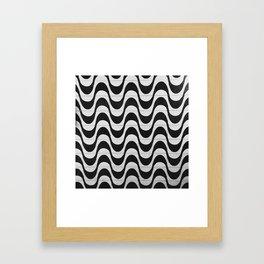Rio Tile Pattern Framed Art Print