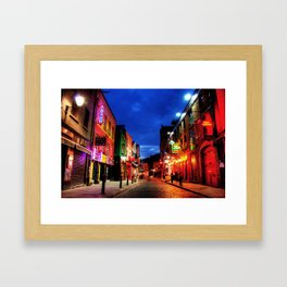 temple bar Framed Art Print