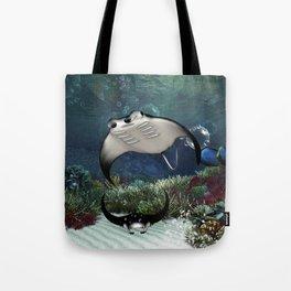 Awesome manta Tote Bag