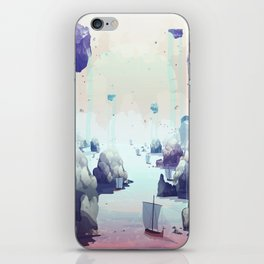 Edge of the Earth iPhone Skin