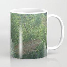 Morning Dew On Cattails Coffee Mug