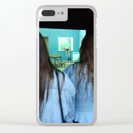 voyeur Clear iPhone Case