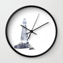 Lighthouse Collage Wall Clock