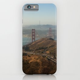 The beautiful city of San Francisco. iPhone Case