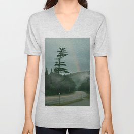 White Mountains Unisex V-Neck