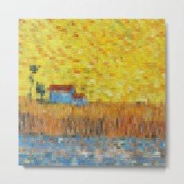 Vincent puzzle 0 Metal Print