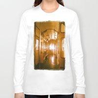 train Long Sleeve T-shirts featuring Train  by Raquel Belloch