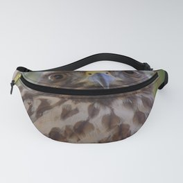 Hawk Eyes in the Willow Fanny Pack