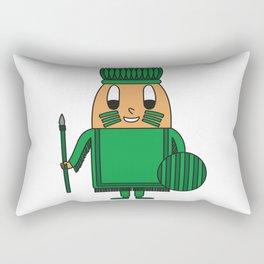 Indian-Chief Egg Rectangular Pillow