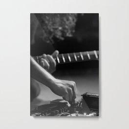Feedback Metal Print