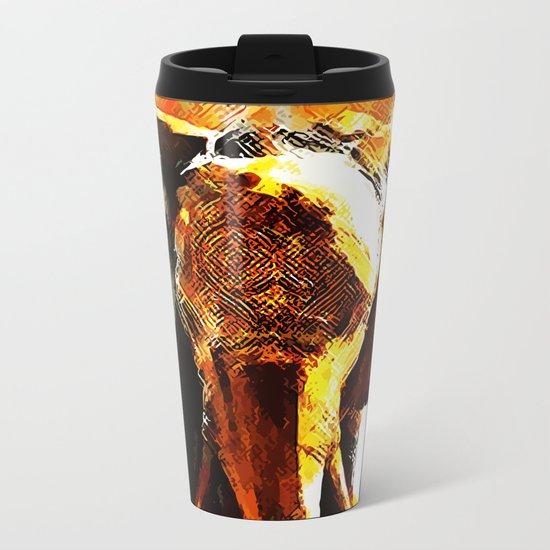 INDI ELEPHANT Metal Travel Mug