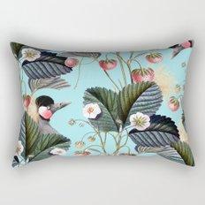 Strawberry Brush Hide-Out #society6 #decor #buyart Rectangular Pillow