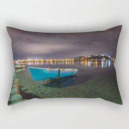 Quiet in the lake Rectangular Pillow