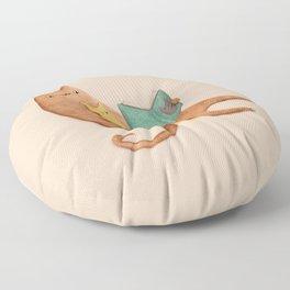 The Cat's Mother Floor Pillow