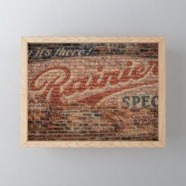 Rainier Special Framed Mini Art Print