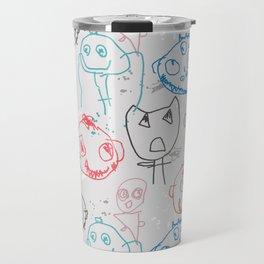 Monster Doodles Travel Mug