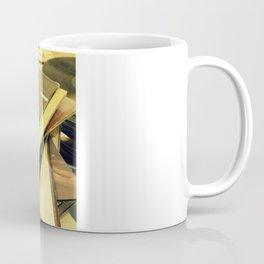 Old Blue Eyes and LPs Coffee Mug