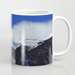 underneath a blue sky Coffee Mug