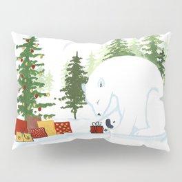 Christmas Polar Bear Pillow Sham
