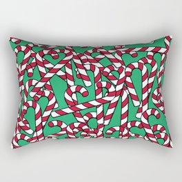 Candy Canes Rectangular Pillow