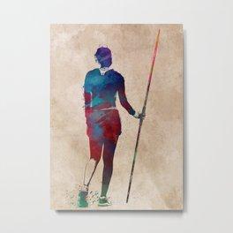 javelin throw #sport #javelinthrow Metal Print