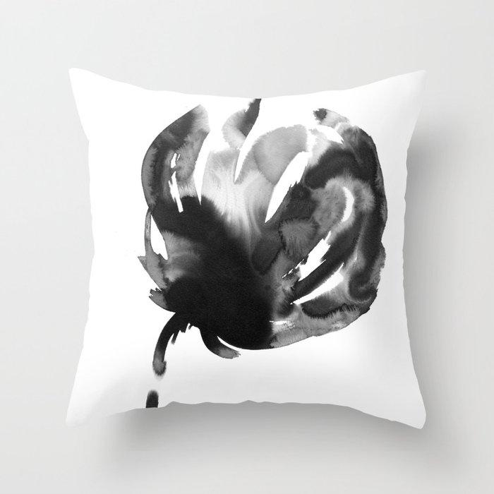 A flower Throw Pillow