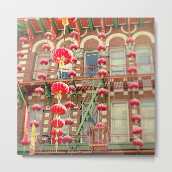 Chinatown III (San Francisco) Metal Print