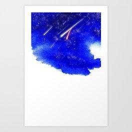 beautiful disaster Art Print